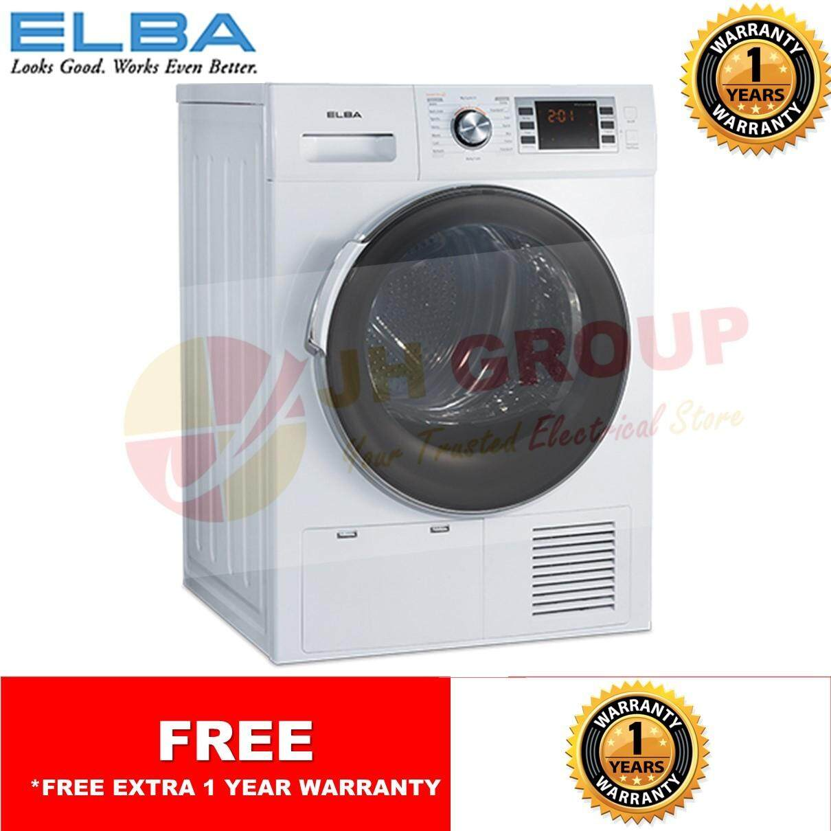 Features Elba Ewf E8152 Wh 8kg Front Load Washing Machine 1400rpm Electrolux Loading Washer Ewf14113 Ed G8161cwh Condenser Dryer Edp2074pdw
