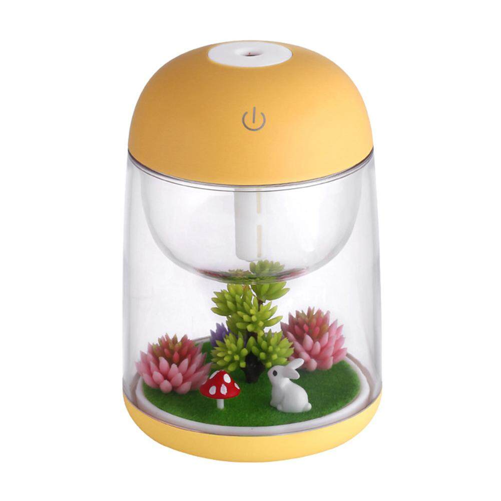 New Usb Charging Bowling Humidifier Aroma Diffuser Led Night Light Home Office Car Decoration Gift Orange Humidifiers