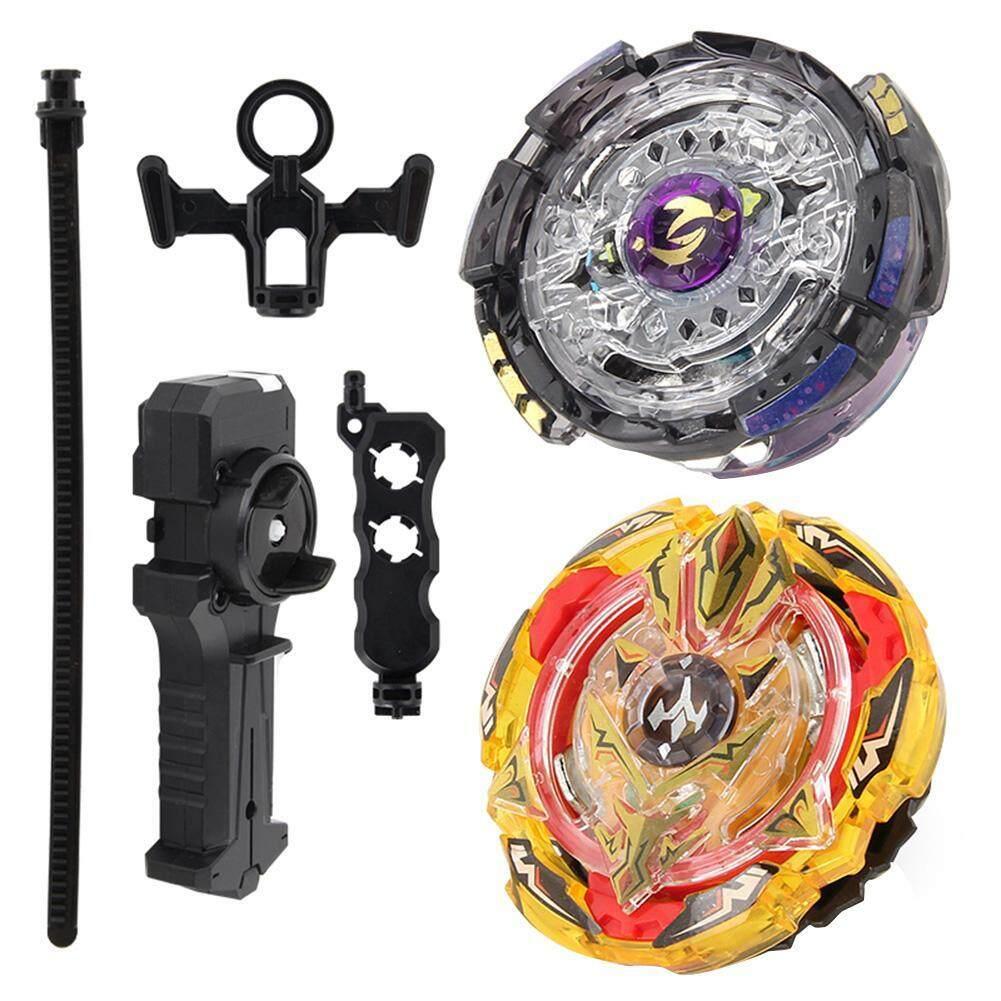 Hình ảnh Metal Alloy Beyblade Bur Gyro Fighting Gyroscope Launcher Spinning Toys Set - intl