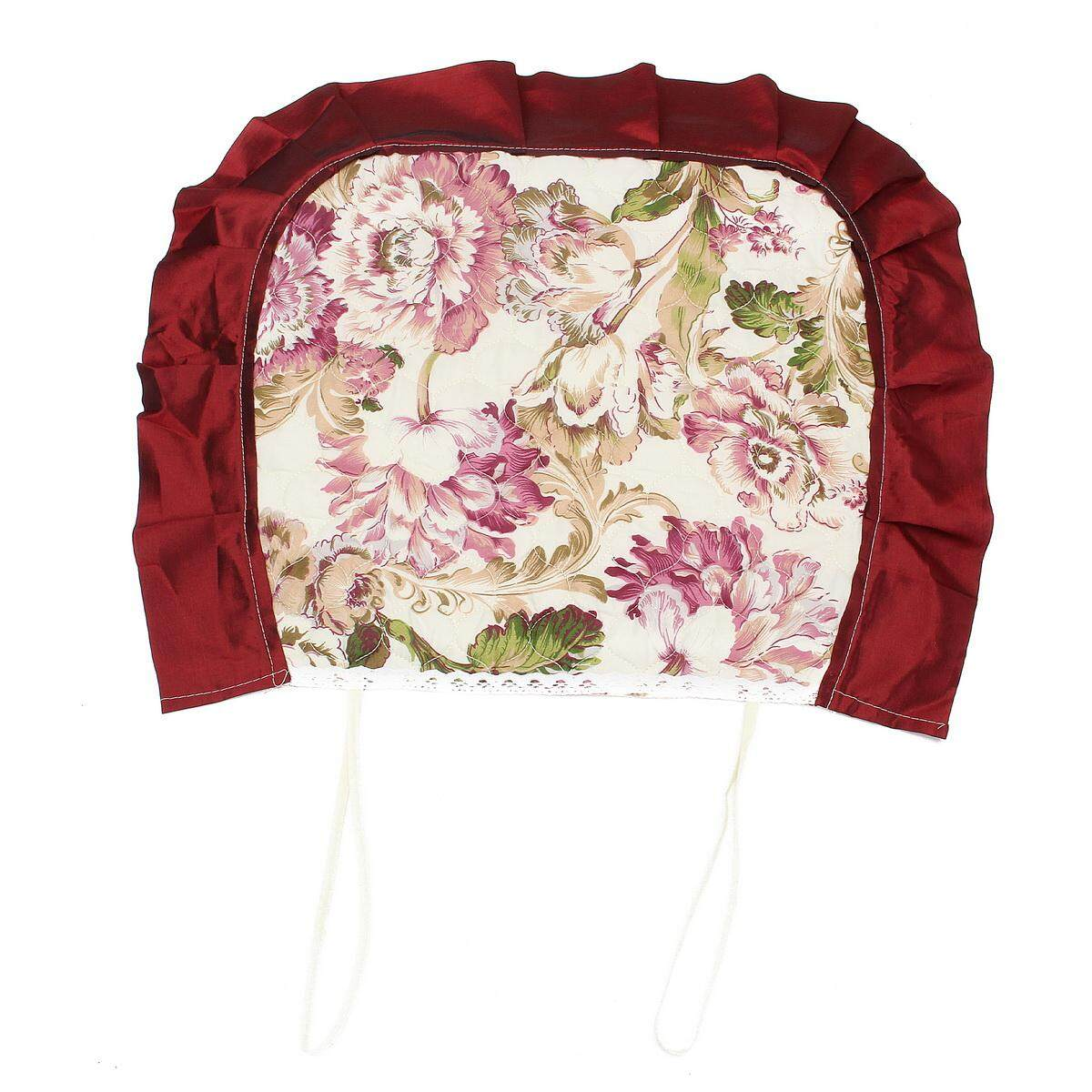 Vintage Floral Tablecloths Chair Cover Polyester Banquet Lace Coffee Table Cloth
