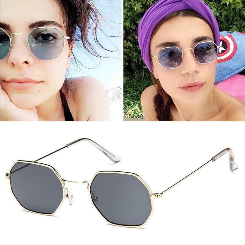 Modis UV400 Snap Jalan Stylish Warna Film Kacamata Hitam Persegi Kacamata Mengemudi