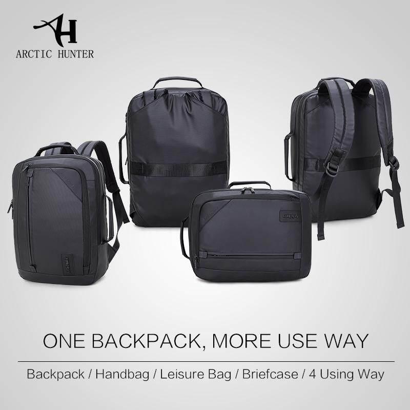 64dc0c7db70 ... ARCTIC HUNTER Multifunction Laptop Backpack Waterproof Casual Backpacks  Back Pack   Hand bag Dual use ...