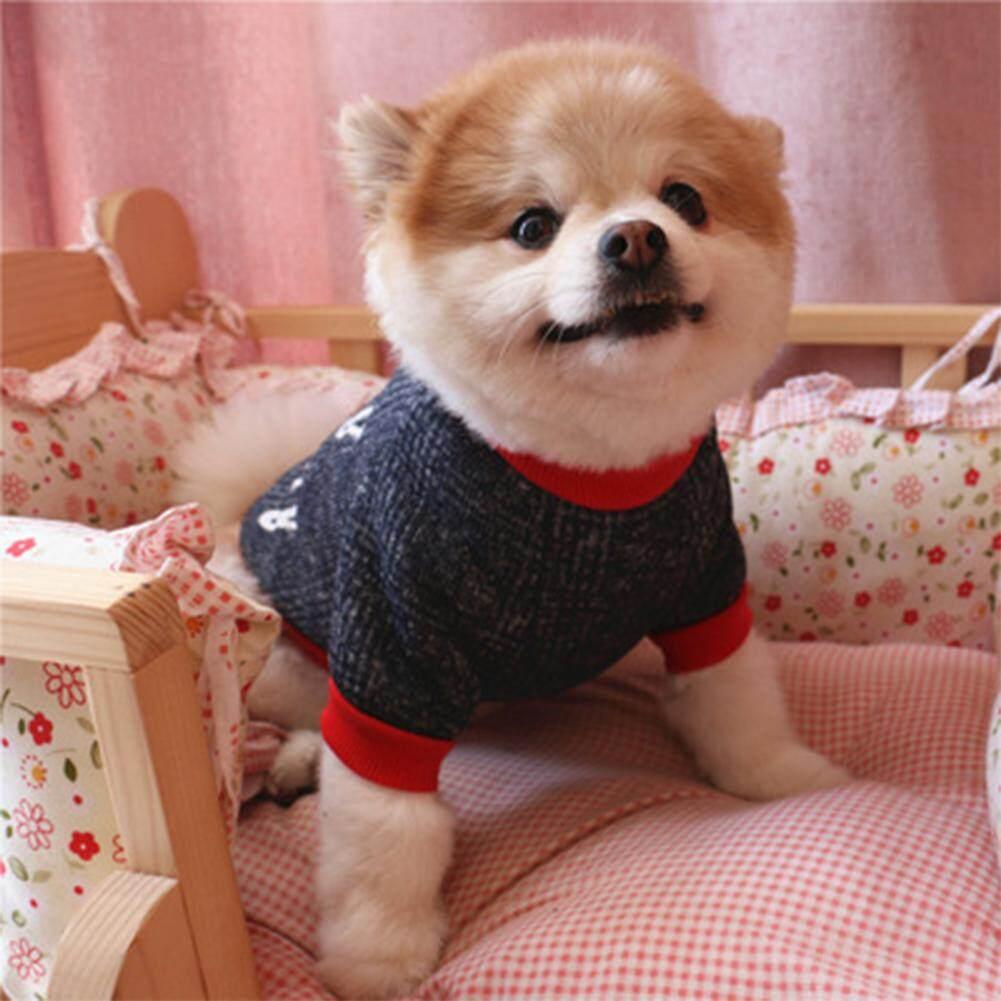 Hangat Anjing Bulu Pakaian Sweatshirt Mantel Pakaian untuk Anjing Kecil Kucing Chihuahua Binatang Peliharaan Musim Gugur