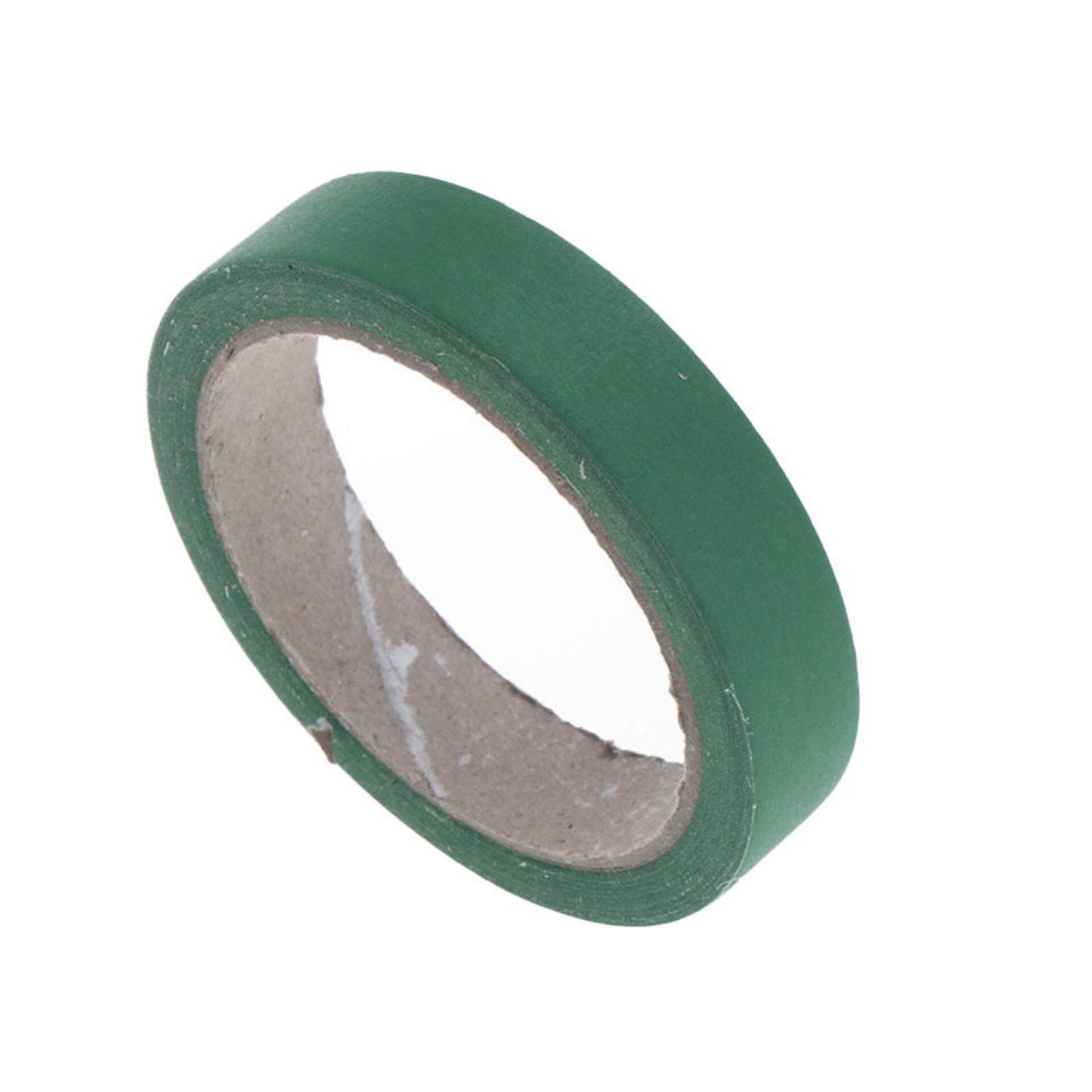 กระดาษที่มีสีสันเทปเหนียว Diy Masking เทปกาวทาสีทั่วไปเครื่องมือหัตถกรรมสีเขียว 10 มิลลิเมตร * 20 เมตร - Intl By Lofow Rain.