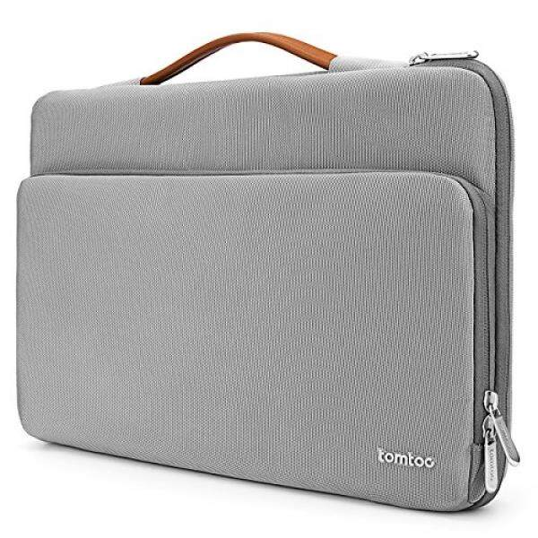 Laptop Sleeves Tomtoc 360° Protective Laptop Sleeve for 13.3-13.5 Inch MacBook Air urface Book 2 2017, Spill-Resistant 13 HP Dell Acer ThinkPad Chromebook Tablet Bag - intl
