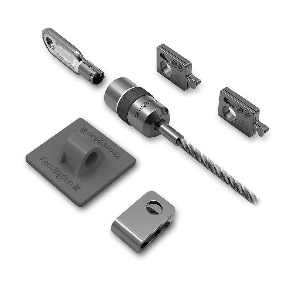 Kensington K64615US Desktop & Peripherals Locking Kit (Retail Pack)