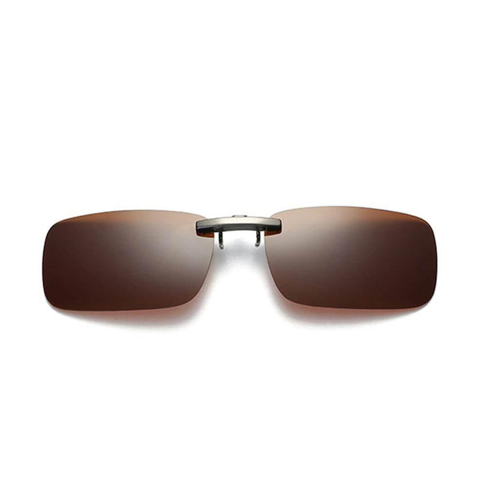Kacamata Bingkai Bulat Gotik Steampunk Matahari Fashion Alumunium Persegi Magnesium Alloy Terpolarisasi Sun Lensa Pria Mengemudi Hitam Clip On Logam Penjepit