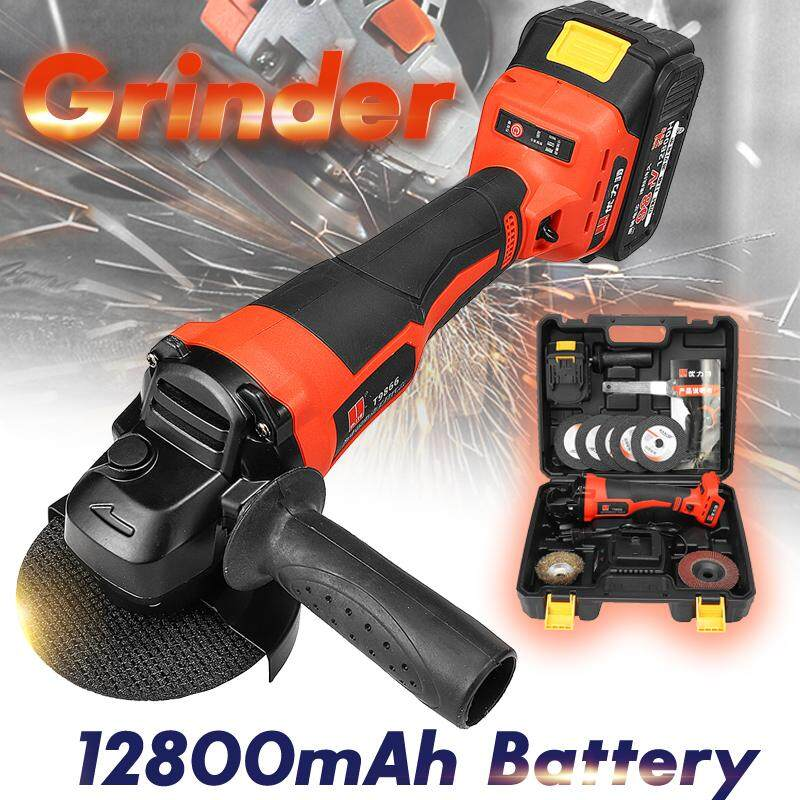 Grinder 12800mAh Cordless Professional For Polishing Grinding Cutting 10000RPM