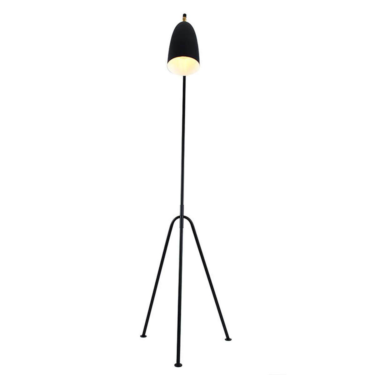 Modern Grasshopper Triangle Led Floor Lamp Greta Magnusson Grossman Style Lights By Glimmer.