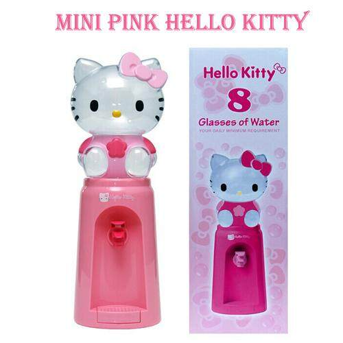 2.5 Liters Hello Kitty Mini Water Dispenser 8 Glasses of Water Everyday