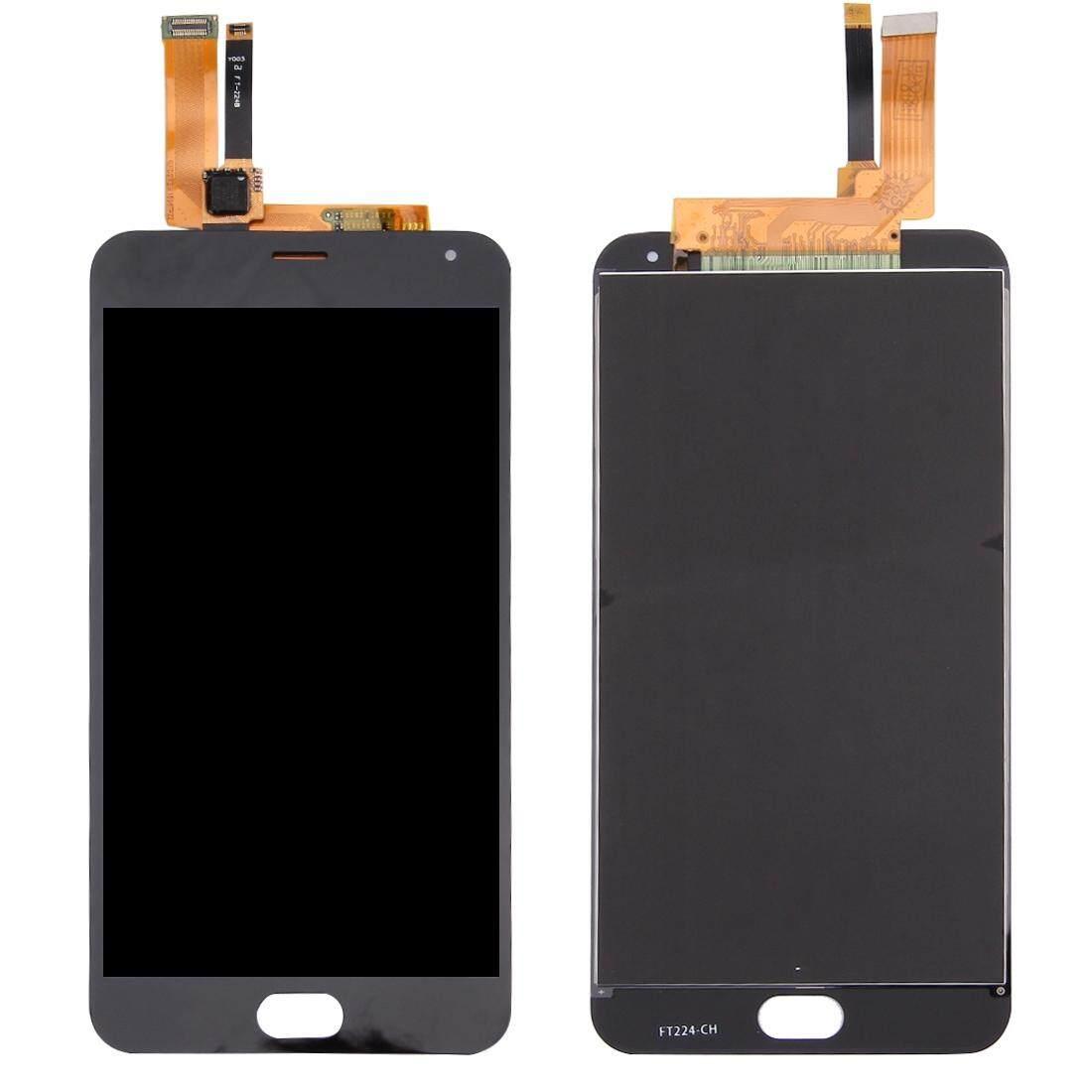 Meizu M2 Catatan/Meilan Note 2 Layar LCD dan Digitizer Penuh Perakitan (Hitam)