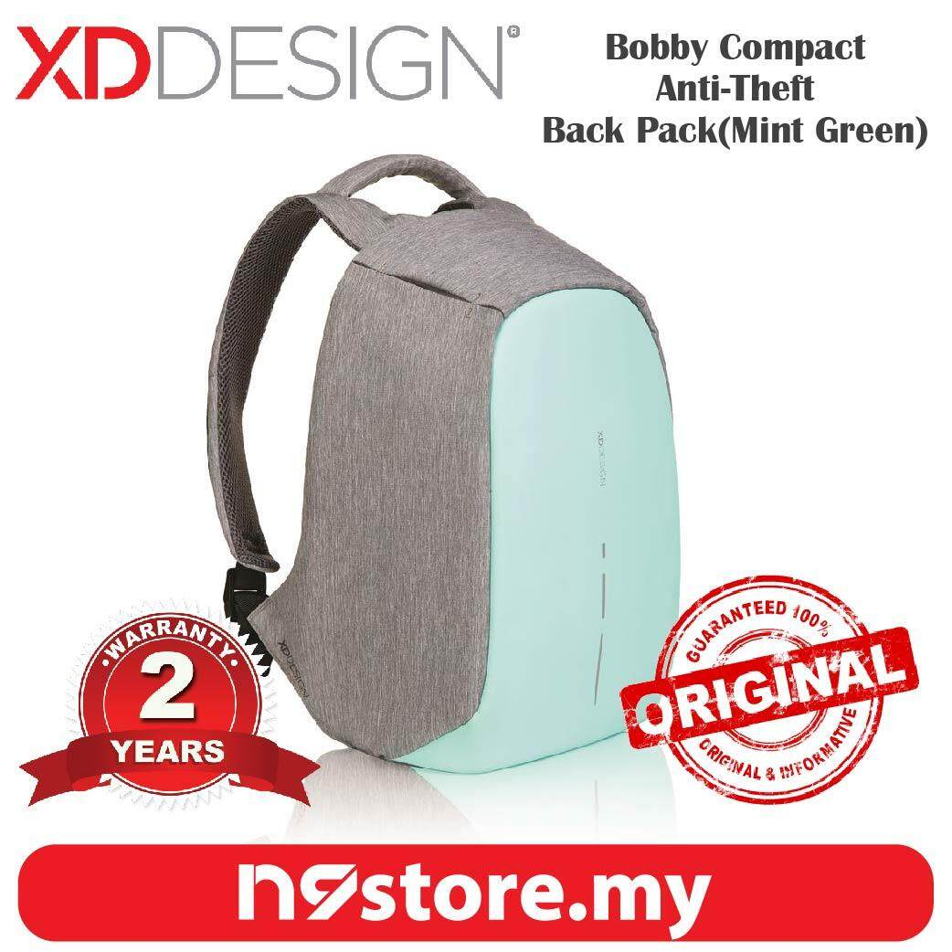XD Design Bobby Compact Mint Green Anti-Theft Cutproof Backpack