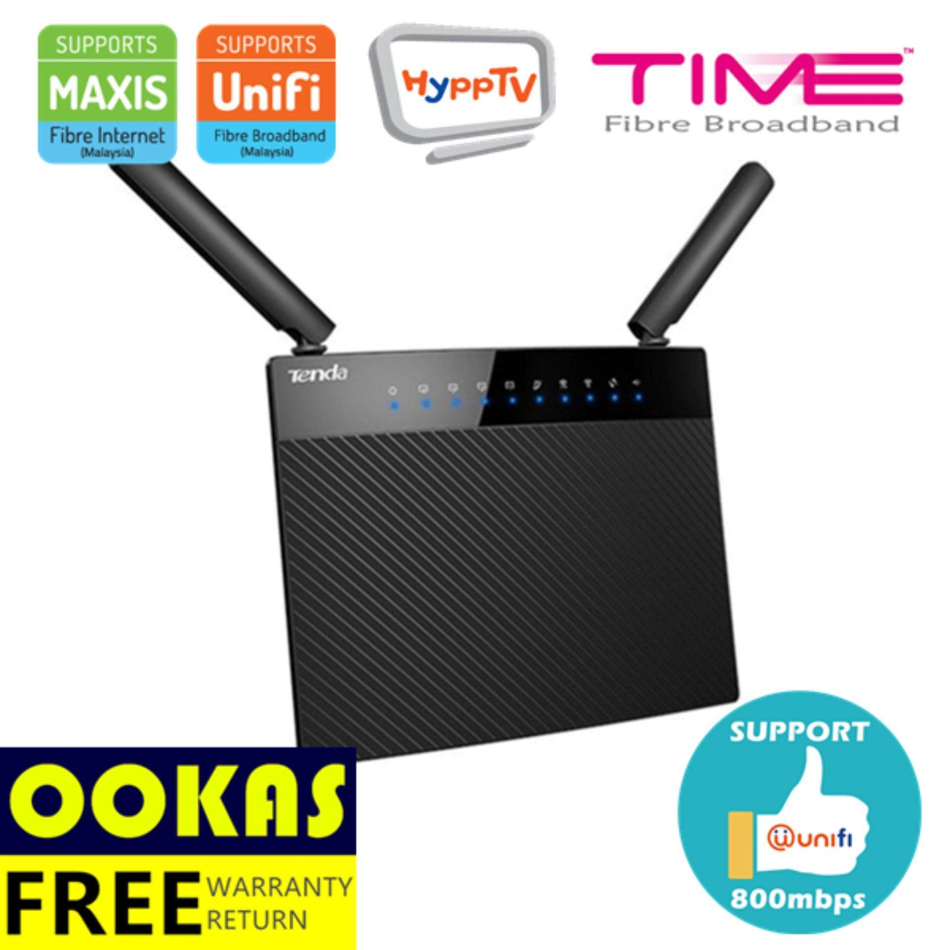 Tenda Ac6 Ac1200 Dual Band Wireless Router 4x5dbi Wifi For Unifi Time Maxis Fibre Wall Killer Malaysia Senarai Harga 2018