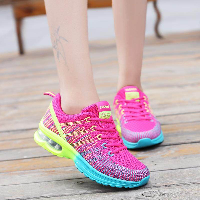 18 Spring And Autumn New Style Hollow out Fly Web Surface through Air  Cushion Athletic Shoes cf91de531