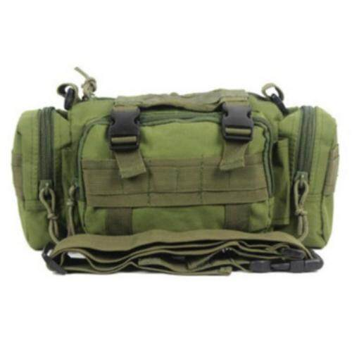 Sage High Quality Outdoor Military Tactical Backpack Waist Pack Mochilas Molle Camping Hiking Pouch Bag - Forest Digital