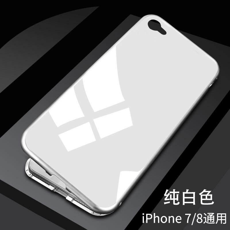 Gemetar suara Model Sama iphone X Casing HP Apple ID x model baru Magneto iphone 8plus Jaringan 6s enam tujuh delapan 7p pasang ipone bungkus Penuh 6 splus anti jatuh 678x model uniseks iphone X