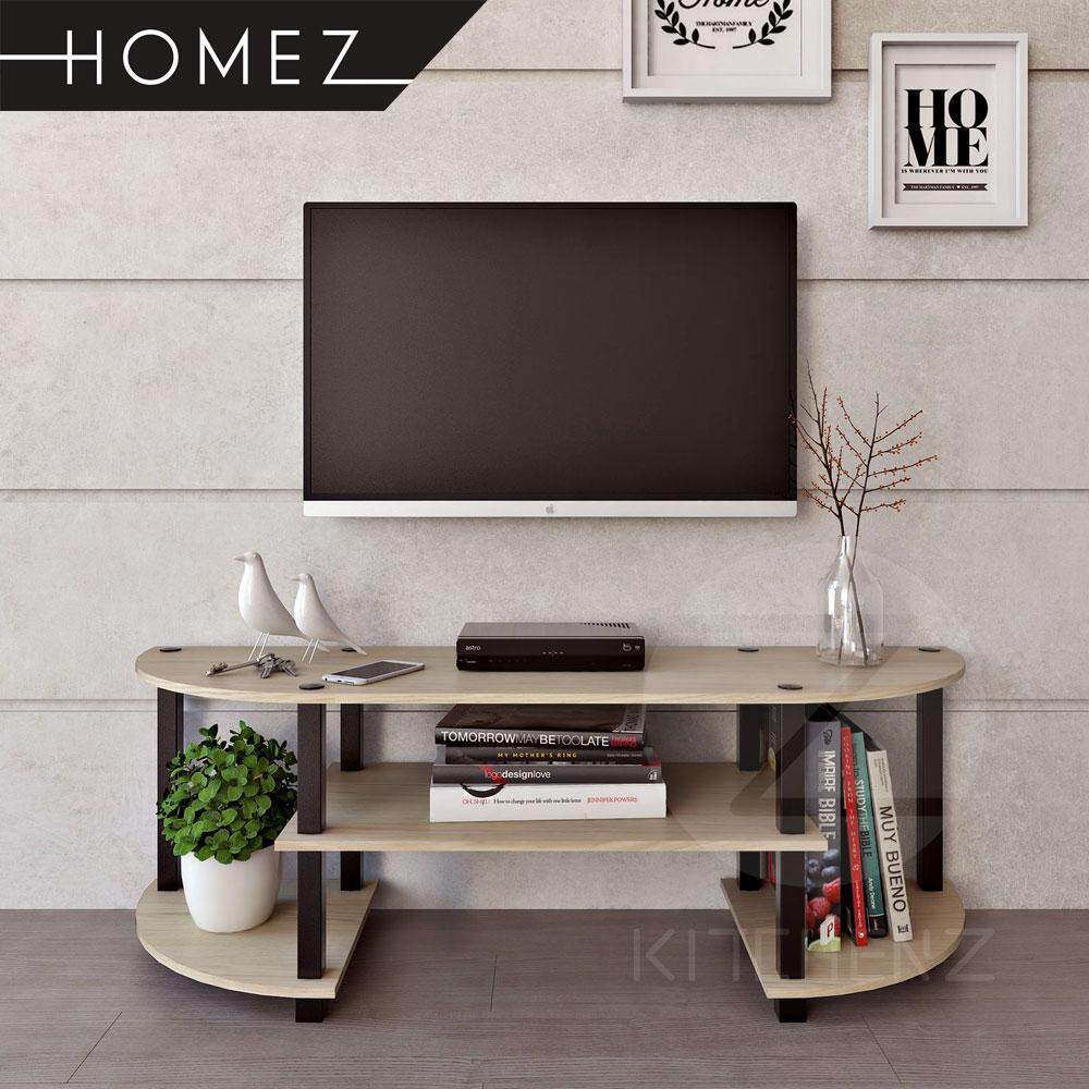 Homez Tv Cabinet HMZ-TV-DT-5000 Modernist Design Solid Board Tv Rack : television storage cabinets - Cheerinfomania.Com