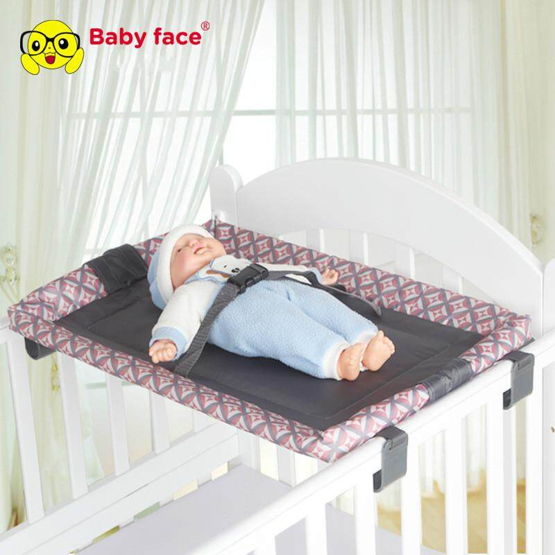 Baby Kids Diaper Changing Tables Dresser Top For Best Infant Diaper Change Non-Skid Bottom Safety Strap Adjustable By Open Global.
