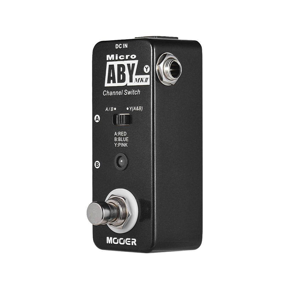 MOOER ABY MKII Channel Switch Guitar Effect Pedal True Bypass Full Metal Shell