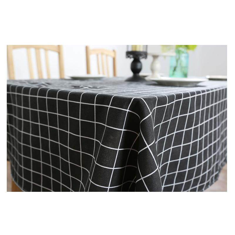 140*200 CM (1 pc) Home Dining livingroom restaurant Black .