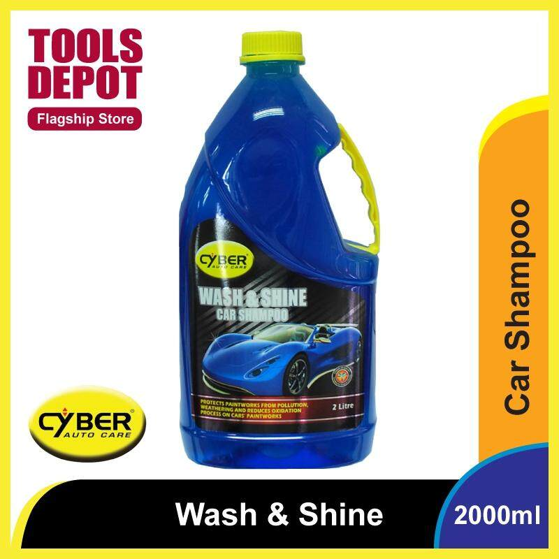 Cyber Wash & Shine Car Shampoo (2000ml)