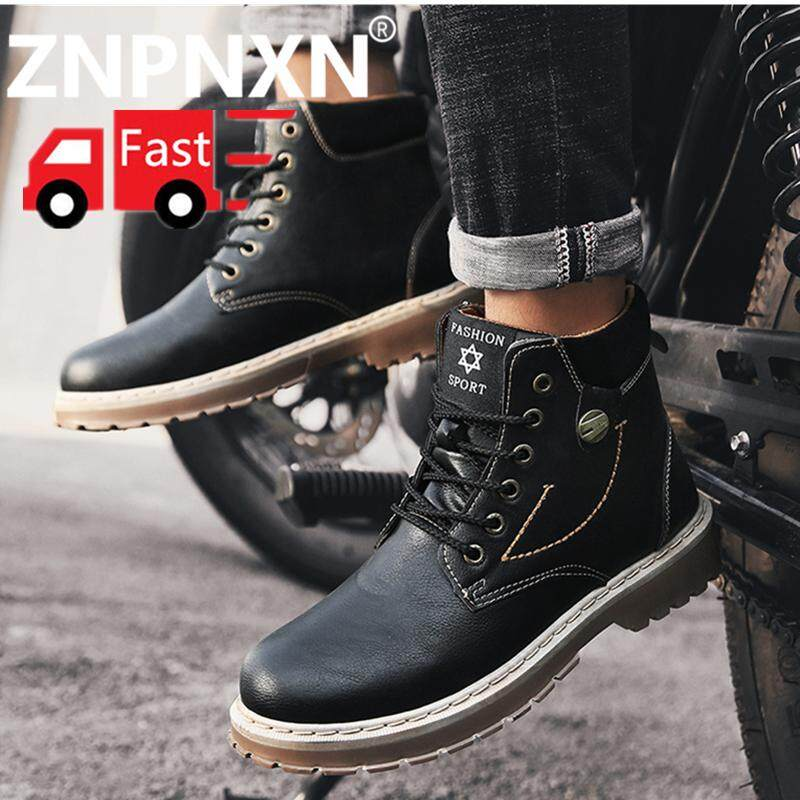 ZNPNXN Man Boots Fashion Boots Outdoor Low Cut Boots Men s Shoes Desert  Boots Free Sgipping 87e0bb13e9