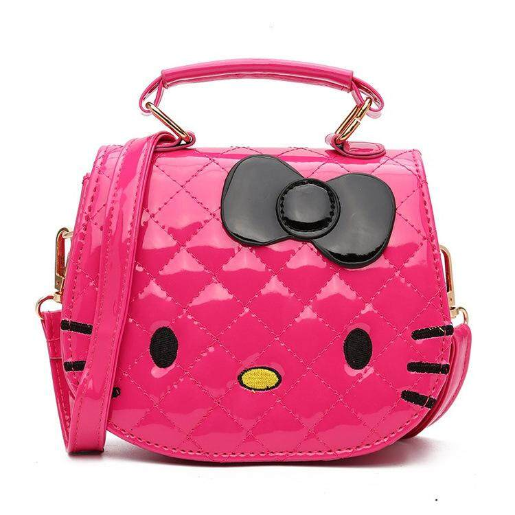 Hello Kitty Sling Bag Princess Female Mini Handbag Shoulder Bag Children Girls Cute Cartoon Tote Bag