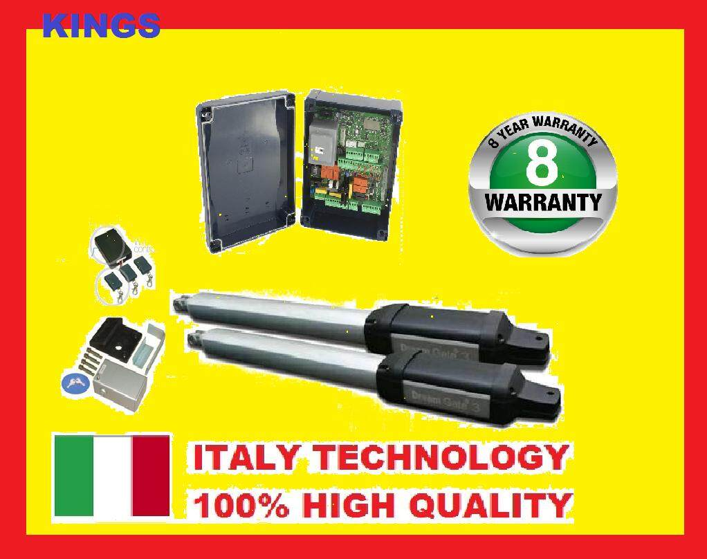 ( 8 YEARS WARRANTY ) SUPER STRONG AUTOGATE SYSTEM ITALY TECHNOLOGY
