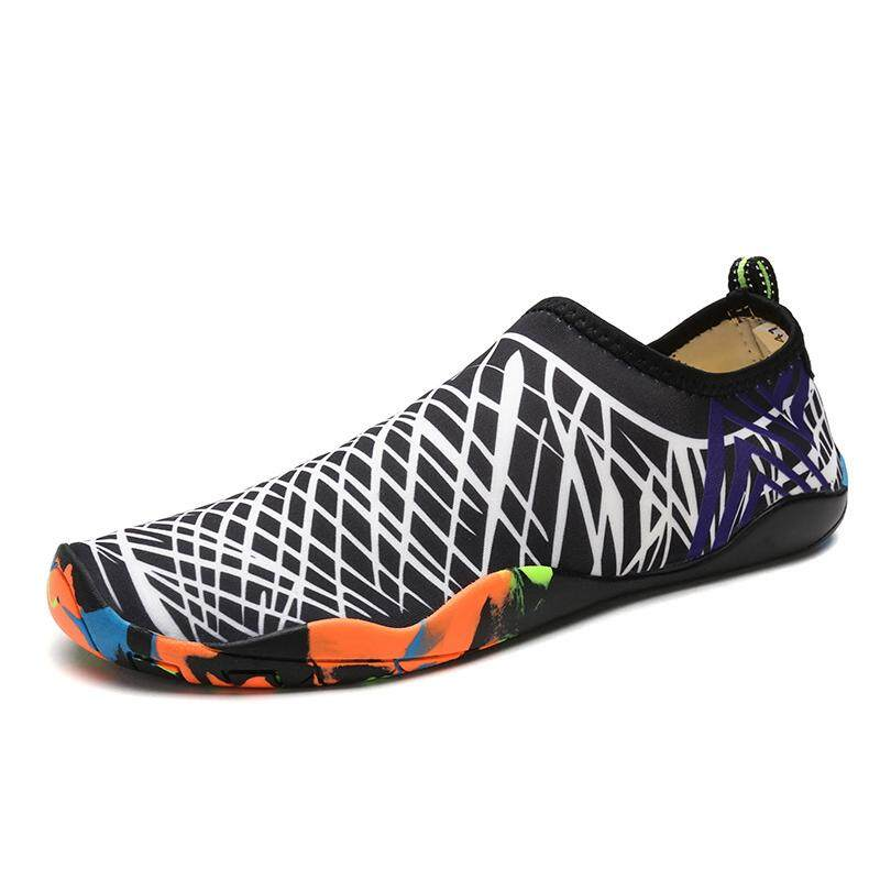 the latest 3f3cb 5f76e sports outdoors water shoes breathable sneakers shoes in summer Beach shoes  lovers Wade surfing shoes Swimming