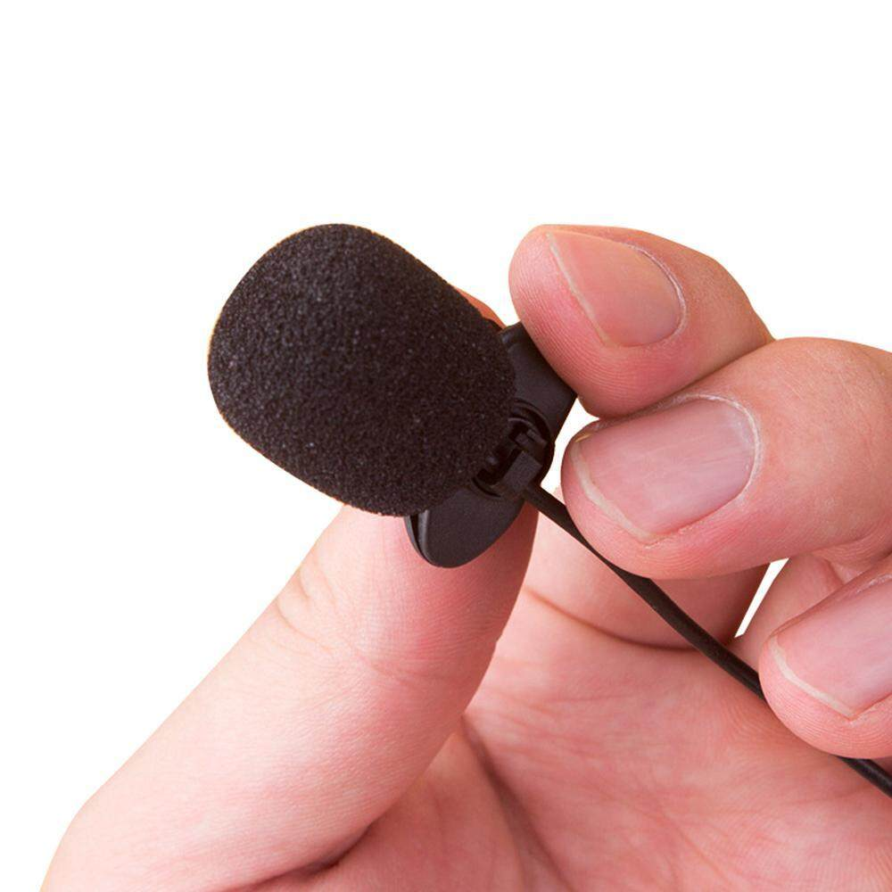 Fitur Hosdog External 3 5mm Clip On Voice Tube Lapel Lavalier Microphone Mini Jepit 35mm Mic For Smart Phone