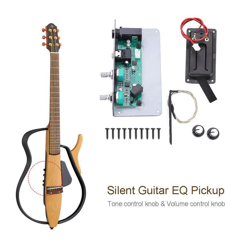 Sg-20 Gitar Hening Eq Equalizer Pickup Dengan Nada Kenop Pengendali Volume Luthier Diy Bagian By Rubikcube