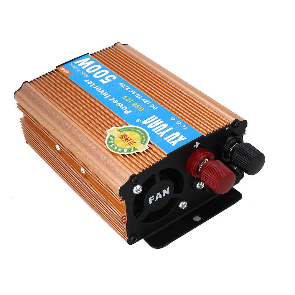 500W Car Power Supply Inverter Charger Converter Adapter Electronic USB Port - intl