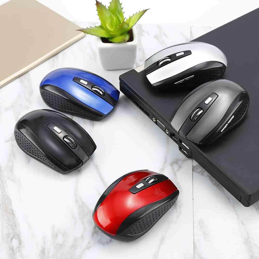 Fitur Fuan Useful 6 Keys 1600dpi Wireless Gaming Mouse 2 4ghz Azzor Rechargeable Usb 2400 Dpi 24g Black 24ghz Buttons 3