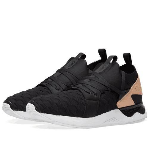 "Asics Original ""ONITSUKA TIGER"" Running Shoe Black Grey Sneakers WOMENS Gel  Lyte V Sanze a7c05622bf"