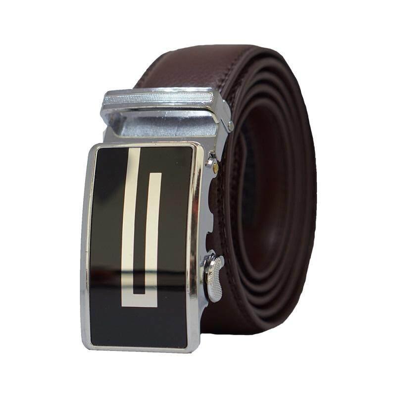 A65 High Quality Original Men Calf Skin Business Men Leather Belt - Adjustable Strap for Size M , L