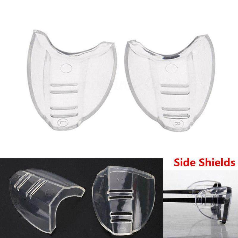 Detail Gambar FC Universal Flexible Side Shields Safety Glasses Goggles Eye Protection 1 Pair leg width below 10mm Terkini