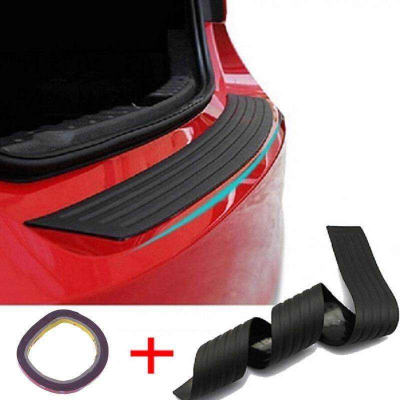 Car Trunk Bumper Guard Pad Suv Guard Protector Rubber Auto Sill Plate Bumper Guard Rubber Pad Protector Car Styling Accessories Trunk Protection Car Tailgate Bumper - Intl By Littlewoods Store.