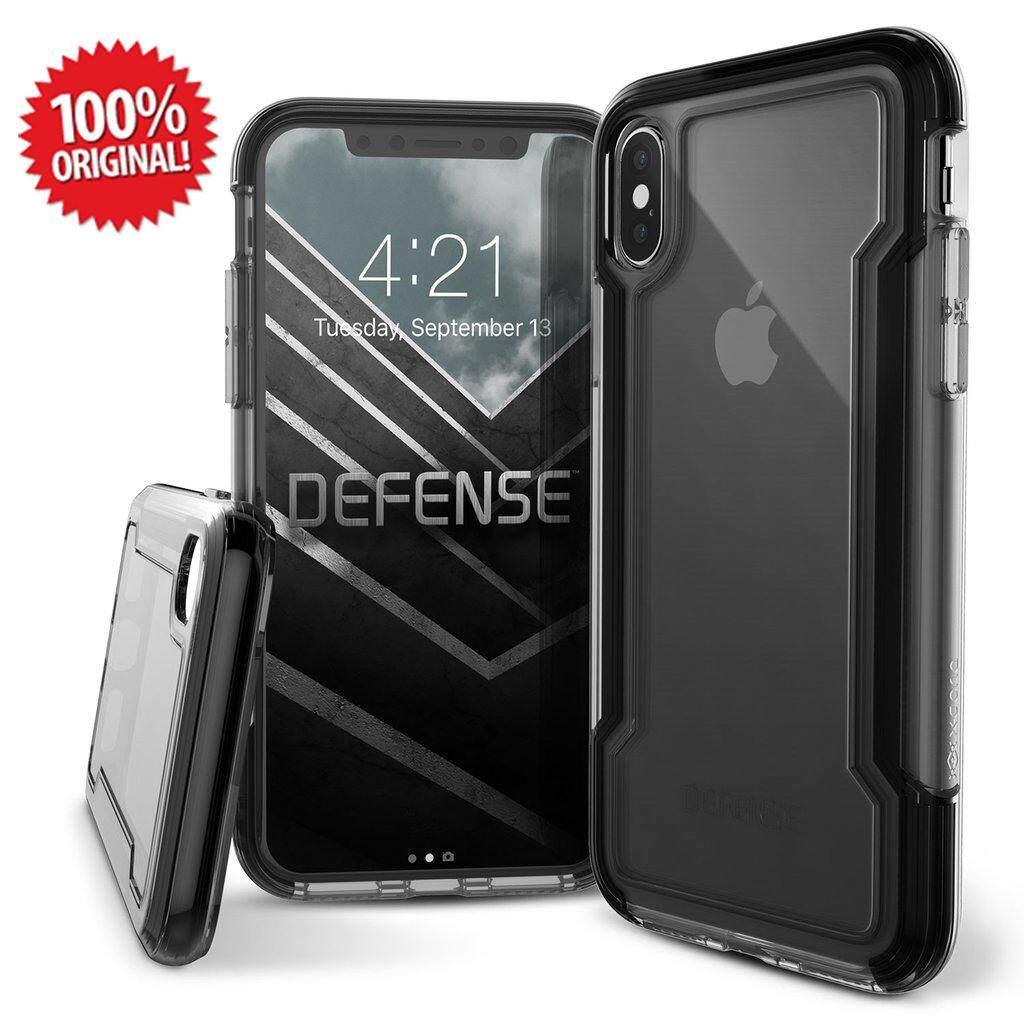 timeless design 9dd94 8855e Original X-Doria Defense Clear Black Case For Apple iPhone X iPhone XR  iPhone XS Max iPhone 7 iPhone 8