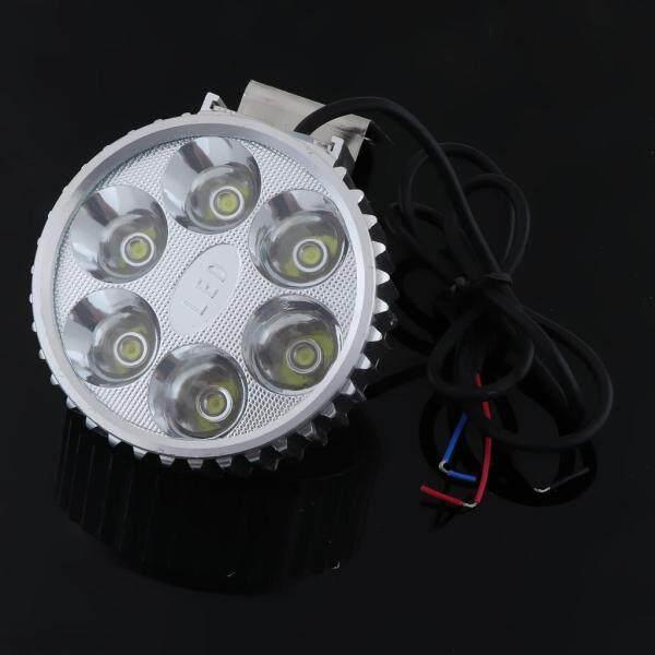 Dovewill Đèn Pha Chiếu Sáng Đèn LED Lái Xe Mô Tô Dirtbike Đèn Sương Mù, Đèn Pha Trắng 18W