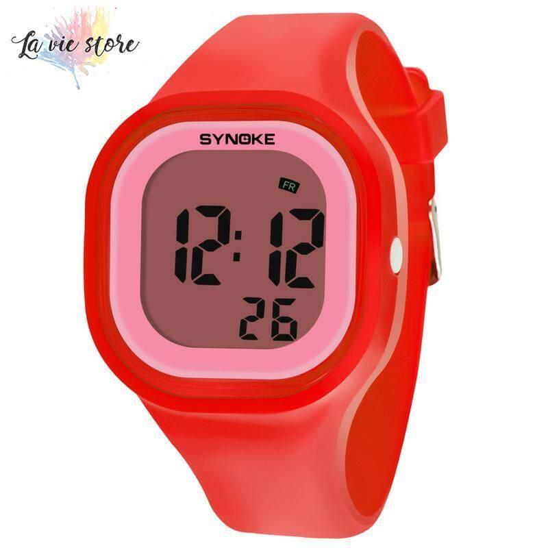 Nơi bán La vis Children Waterproof Digital Luminous Watch Student Sports Digital Electronic Wrist Watch