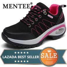 Mentee Wanita Sepatu Mendaki Sepatu Kets Bantalan Udara Meningkatkan Sepatu Kasual Sepatu Olahraga Luar Ruangan