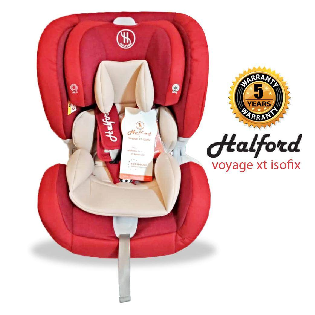 Halford Voyage XT Isofix Car Seat - Red