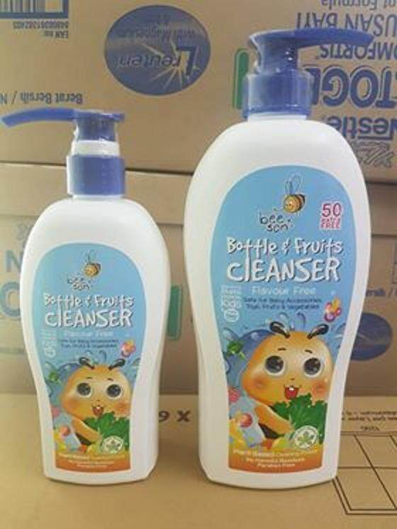 BEESON Bottle and Fruits Cleanser (Flavour Free) 800ml
