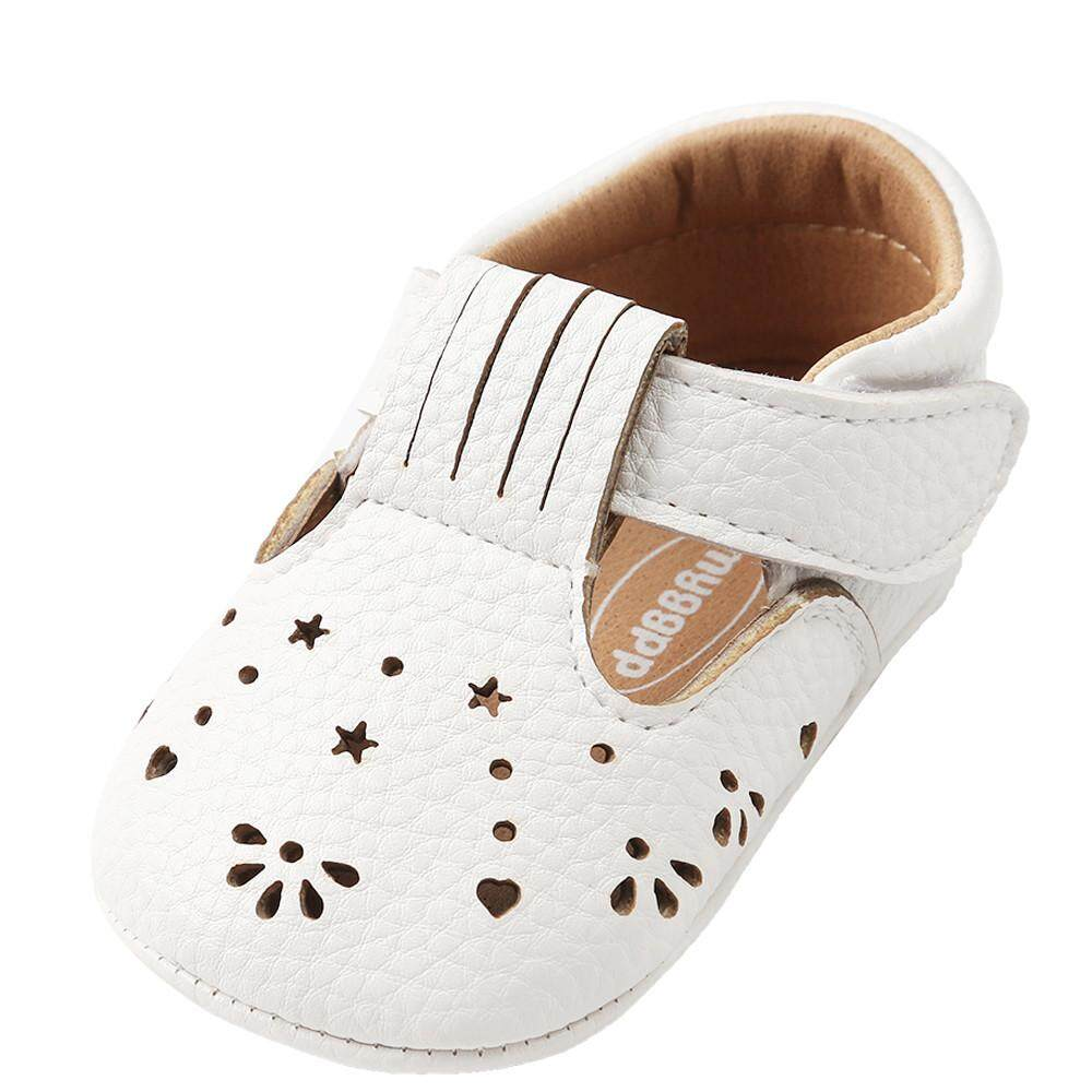 Baby Shoes Friendly Summer Denim Blue Baby Girls First Walkers Indoor Elastic Lace Princess Slippers Prewalkers Shoes