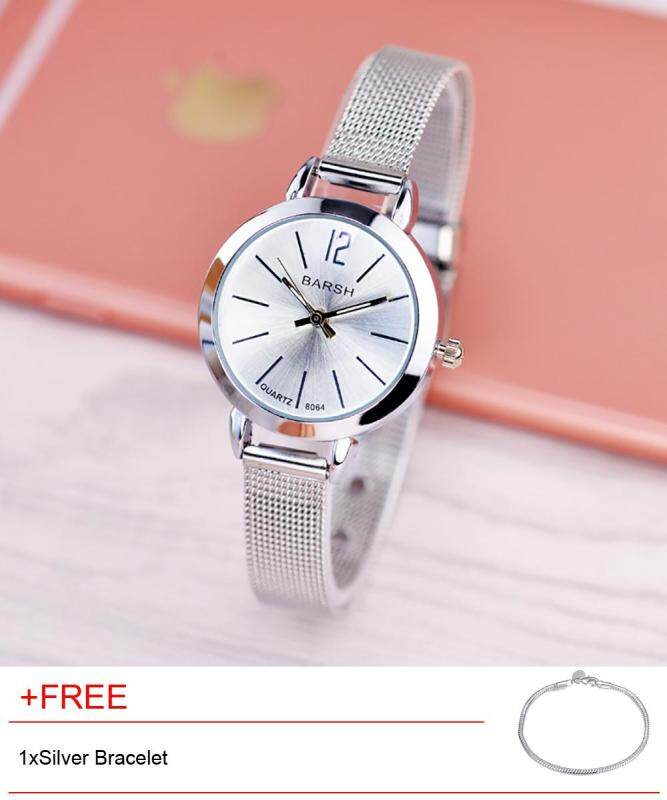 High quality Elegant and small fashion lady waterproof net belt Watch Malaysia