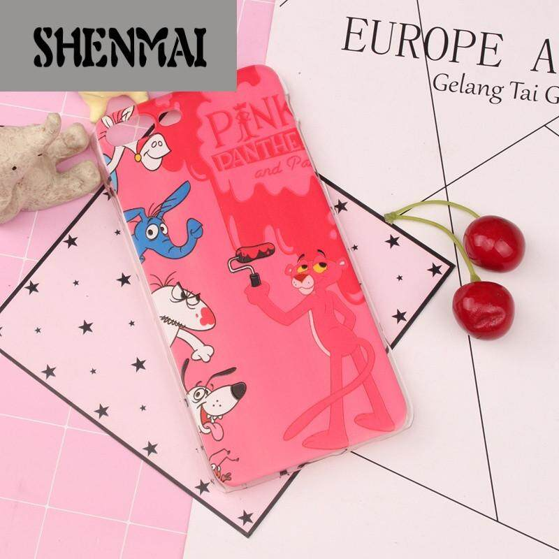 The SHM brand iphone 6 s cellular phone hull 5 s Huo gum se apple 7 plus soft hull 8 p set INS net red tide in Korea female pink leopard(Jie red I7 Ps/I8s P-brush wall leopard)