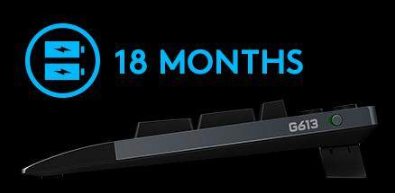 Beli Sekarang Logitech G613 Wireless Mechanical Gaming Keyboard (920