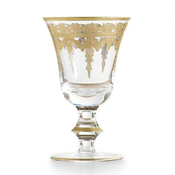 Wine Glasses Arte Italica Vetro Gold Wine Glass - intl