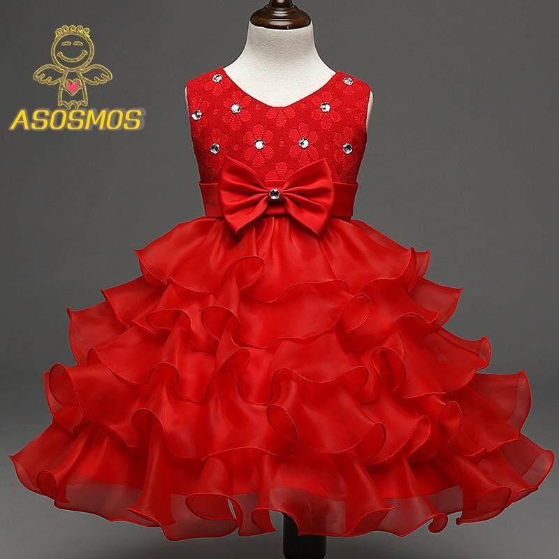 Giá bán ASM Cho Bé Gái Váy Đầm Noel Bé Xù Ren Công Chúa Tutu Áo cho Tiệc Cưới Các Sự Kiện
