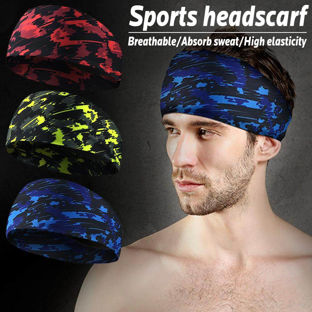 Sport Sweat Headband Sweatband For Men Women Yoga Hair Bands Running Head  Anti Sweat Bands Sports 57c552f61ca3